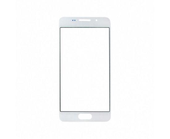 Стекло тачскрина для Samsung A310 Galaxy A3 (2016) белое с олеофобным покрытием, закалённое