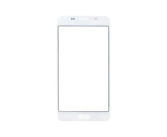 Стекло тачскрина для Samsung A510 Galaxy A5 (2016) белое с олеофобным покрытием, закалённое