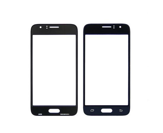 Стекло тачскрина для Samsung J120 Galaxy J1 (2016) чёрно-синее