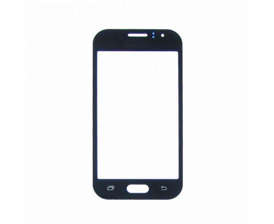 Стекло тачскрина для Samsung J110 Galaxy J1 Ace чёрное