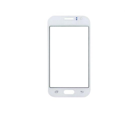 Стекло тачскрина для Samsung J110 Galaxy J1 Ace белое