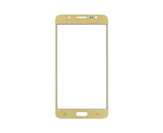 Стекло тачскрина для Samsung J510 Galaxy J5 (2016) золотистое