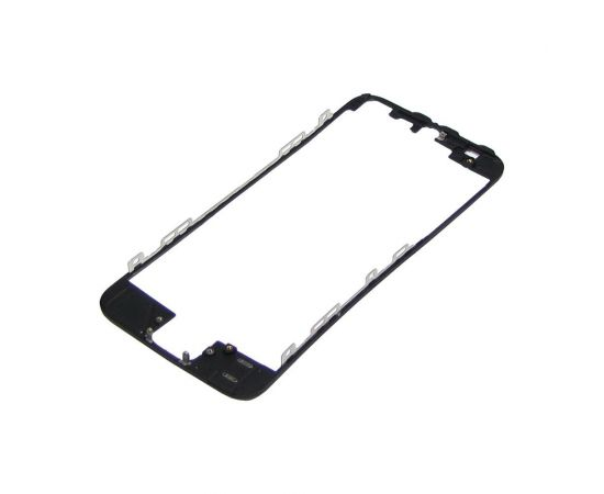 Дисплейная рамка для Apple iPhone 5 чёрная с термоклеем