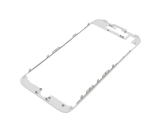 Дисплейная рамка для Apple iPhone 7 белая с термоклеем