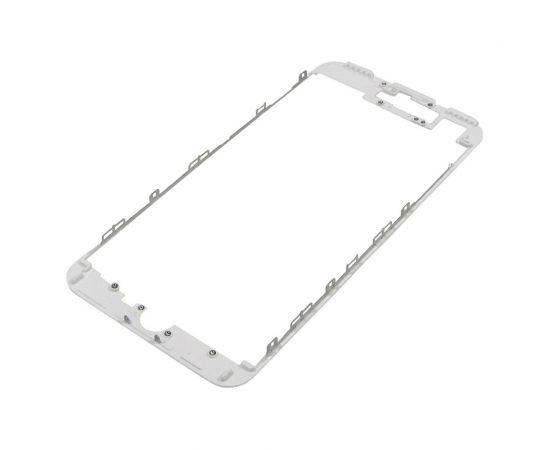 Дисплейная рамка для Apple iPhone 7 Plus белая с термоклеем