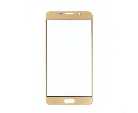 Стекло тачскрина для Samsung A710 Galaxy A7 (2016) золотистое