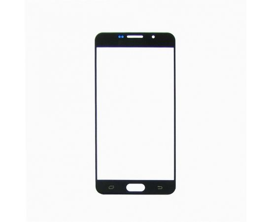 Стекло тачскрина для Samsung A710 Galaxy A7 (2016) чёрное