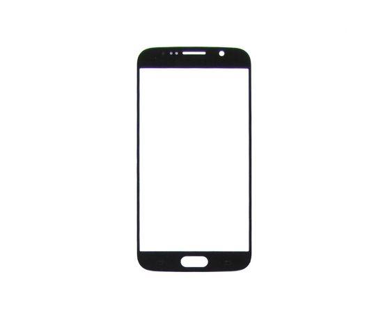 Стекло тачскрина для Samsung G920 Galaxy S6 чёрное с олеофобным покрытием, закалённое