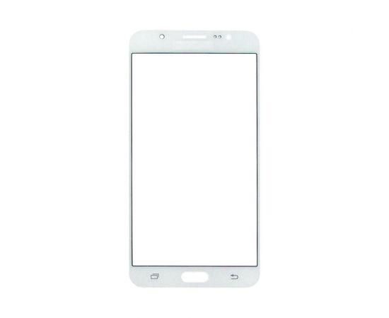 Стекло тачскрина для Samsung J710 Galaxy J7 (2016) белое с олеофобным покрытием, закалённое