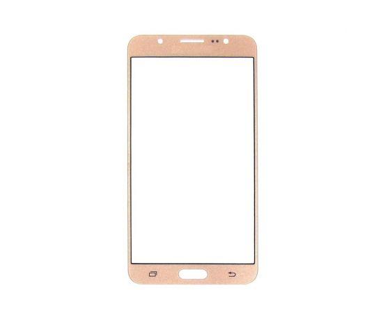 Стекло тачскрина для Samsung J710 Galaxy J7 (2016) золотистое с олеофобным покрытием, закалённое
