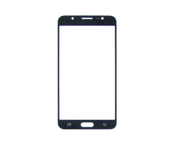 Стекло тачскрина для Samsung J710 Galaxy J7 (2016) чёрное с олеофобным покрытием, закалённое
