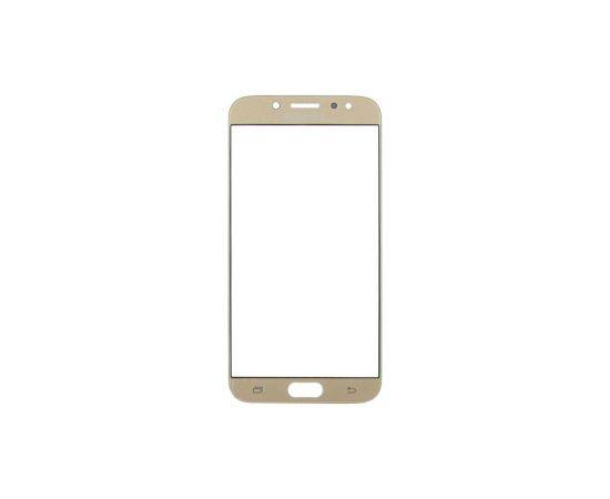 Стекло тачскрина для Samsung J730 Galaxy J7 (2017) золотистое