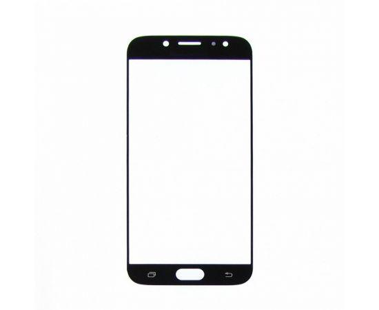 Стекло тачскрина для Samsung J730 Galaxy J7 (2017) чёрное
