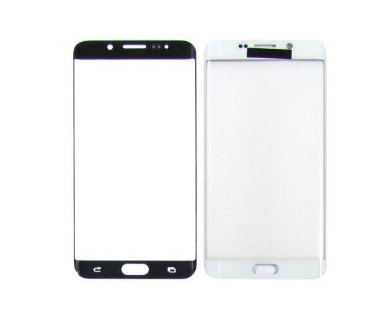 Стекло тачскрина для Samsung G928 Galaxy S6 Edge Plus белое с олеофобным покрытием, закалённое HC