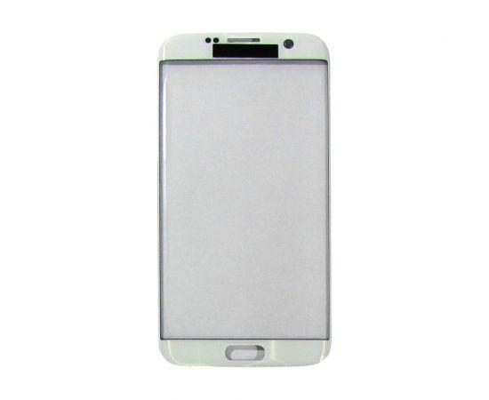 Стекло тачскрина для Samsung G935 Galaxy S7 Edge белоес олеофобным покрытием, закалённое HC