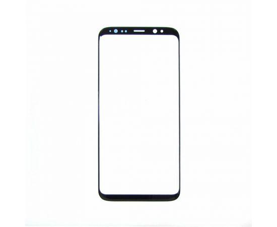Стекло тачскрина для Samsung G950 Galaxy S8 чёрное с олеофобным покрытием, закалённое HC