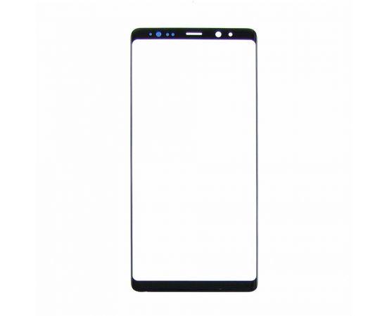 Стекло тачскрина для Samsung N950 Galaxy Note 8 чёрное с олеофобным покрытием, закалённое HC