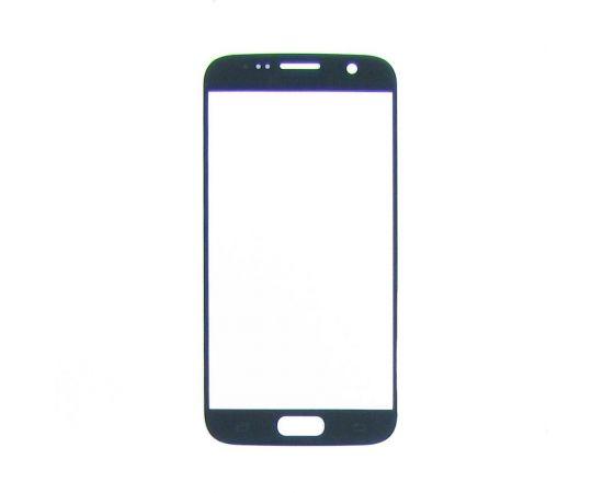 Стекло тачскрина для Samsung G930 Galaxy S7 серое с олеофобным покрытием, закалённое