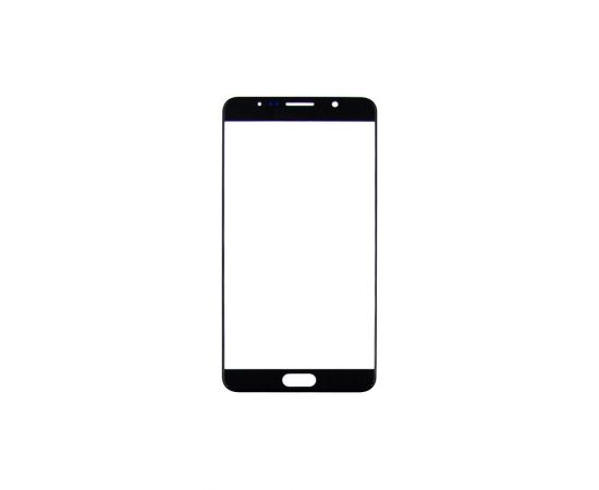 Стекло тачскрина для Samsung N920 Galaxy Note 5 чёрное HC