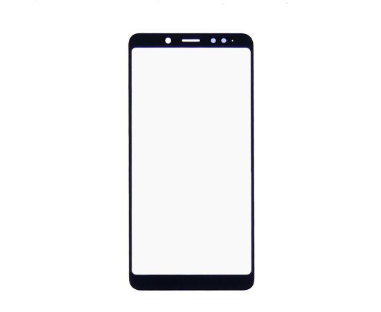 Стекло тачскрина для Xiaomi Redmi Note 5/5 Pro чёрное с олеофобным покрытием, закалённое
