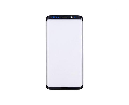 Стекло тачскрина для Samsung G960 Galaxy S9 чёрное с олеофобным покрытием, закалённое HC