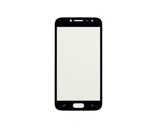 Стекло тачскрина для Samsung J250 Galaxy J2 Pro (2018) чёрное