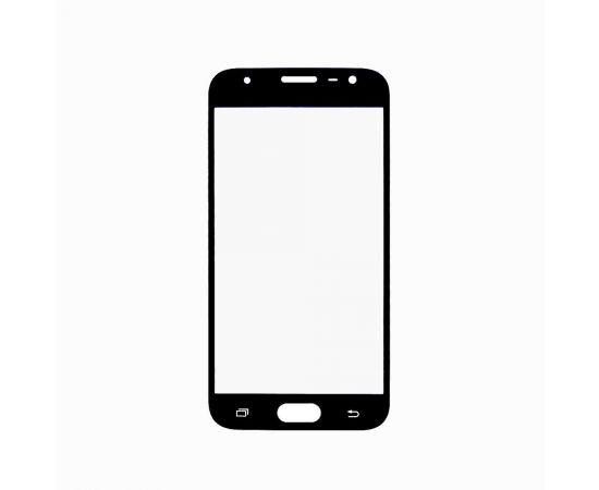Стекло тачскрина для Samsung J330 Galaxy J3 (2017) чёрное