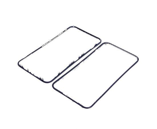 Дисплейная рамка для Apple iPhone XR чёрная HC