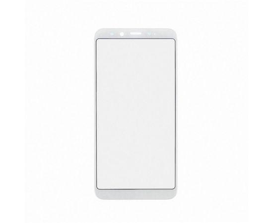Стекло тачскрина для Xiaomi Mi6X/Mi A2 белое с олеофобным покрытием, закалённое