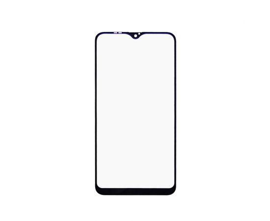 Стекло тачскрина для Samsung A105 Galaxy A10 (2019) чёрное с олеофобным покрытием, закалённое