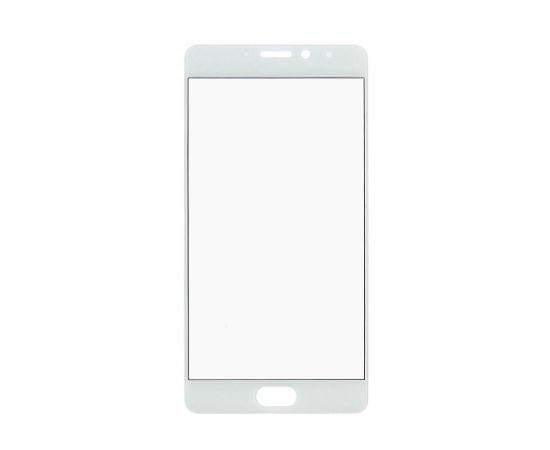 Стекло тачскрина для Meizu Pro 7 Plus белое с олеофобным покрытием, закалённое