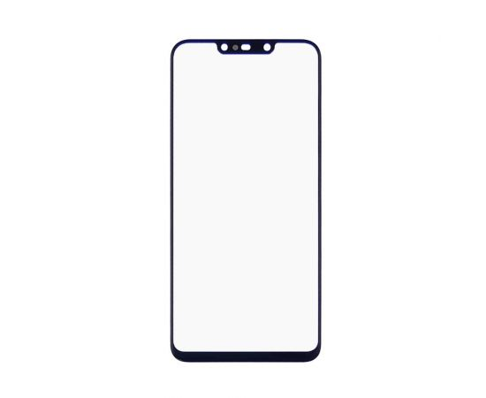 Стекло тачскрина для Huawei P Smart Plus (2018)/Nova 3i/Mate 20 Lite (2018) чёрное с олеофобным покрытием, закалённое