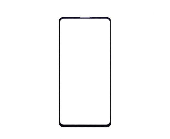 Стекло тачскрина для Xiaomi Mi9T/ K20 Pro чёрное с олеофобным покрытием, закалённое