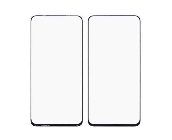 Стекло тачскрина для Samsung A805/A905 Galaxy A80 (2019)/A90 (2019) чёрное с олеофобным покрытием, закалённое