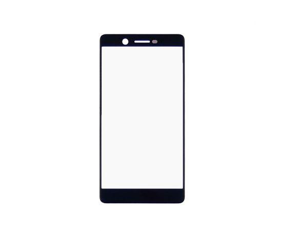 Стекло тачскрина для Nokia 7 Dual Sim (TA-1041) чёрное
