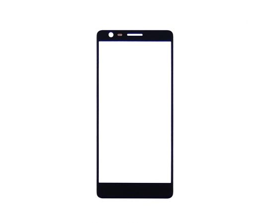 Стекло тачскрина для Nokia 3.1 Dual Sim (TA-1063) чёрное
