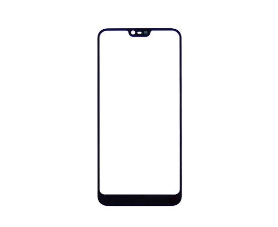 Стекло тачскрина для Nokia 7.1 Dual Sim чёрное