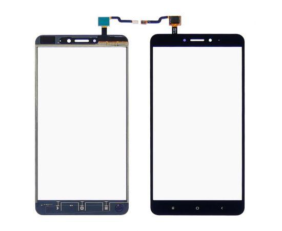 Тачскрин для Xiaomi Mi Max 2 чёрный