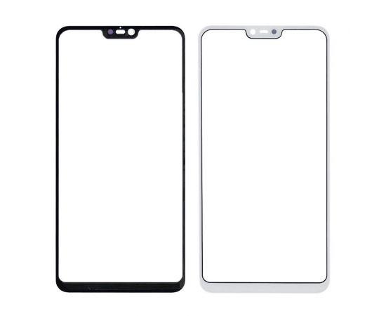 Стекло тачскрина для Xiaomi Mi8 Lite белое с олеофобным покрытием, закалённое