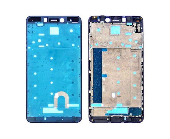 Дисплейная рамка для Xiaomi Redmi Note 4 (Mediatek) чёрная