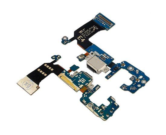 Разъём зарядки для Samsung G950 Galaxy S8 на плате с микрофоном и компонентами
