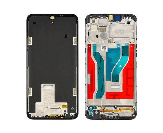 Дисплейная рамка для Samsung A107 Galaxy A10S чёрная