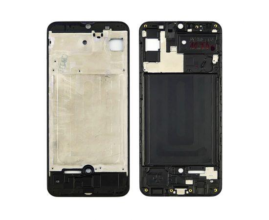 Дисплейная рамка для Samsung A307 Galaxy A30S чёрная