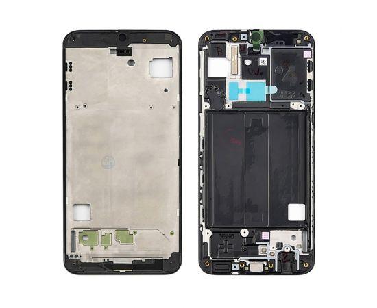 Дисплейная рамка для Samsung A405 Galaxy A40 (2019) чёрная