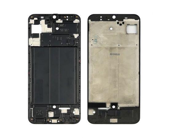 Дисплейная рамка для Samsung A507 Galaxy A50S (2019) чёрная