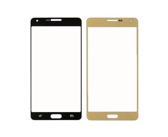 Стекло тачскрина для Samsung A700 Galaxy A7 золотистое