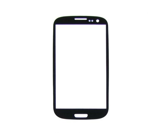Стекло тачскрина для Samsung i9300 Galaxy S3 чёрное