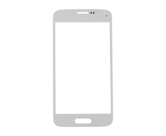 Стекло тачскрина для Samsung G800H Galaxy S5 Mini белое