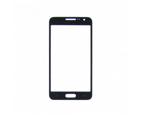 Стекло тачскрина для Samsung A300 Galaxy A3 чёрное