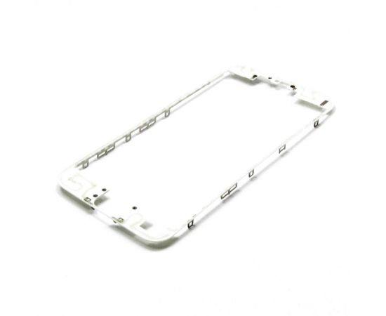 Дисплейная рамка для Apple iPhone 6s белая с термоклеем AAA